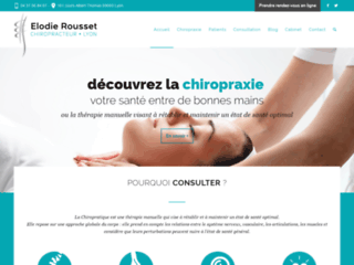 Cabinet Chiropratique - Votre Chiropraticienne sur http://www.chiro-rousset.fr