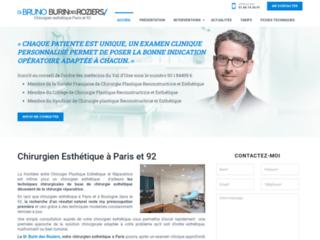 Détails : Dr Burin des Roziers: Chirurgien esthétique et plastique à Paris