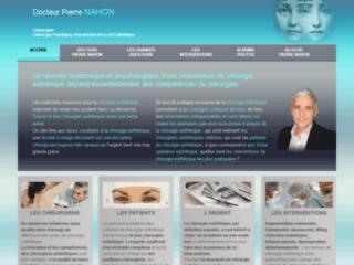 Chirurgien esthétique à Paris, Dr Pierre Nahon sur http://www.chirurgie-esthetique-pierre-nahon.fr