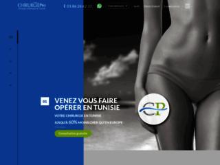 Agence de chirurgie esthétique en Tunisie sur http://www.chirurgiepro.net