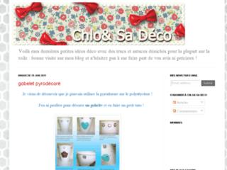 Blog de scrap cuir - Chloé & sa Déco