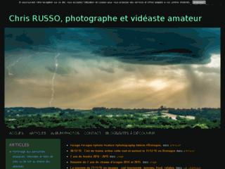 Chris RUSSO, photographe et vidéaste amateur sur la Météo.