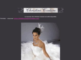 Robes de mari�e - Christine Couture
