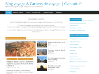 Ciaotutti - Blog de voyage