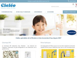 Economies d'eau avec Cieléo