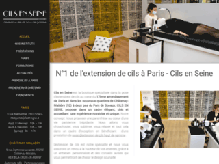 Détails : Extension de cils à Paris