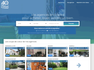 Agences immobilieres Cimm Immobilier