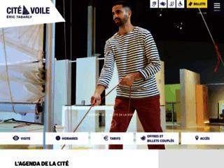 Aperçu du site Cité de la Voile Tabarly