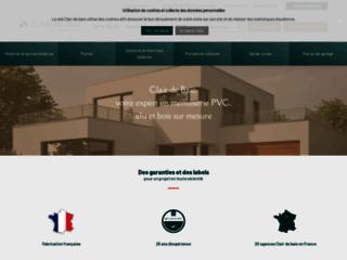 Aperçu du site Clair de Baie