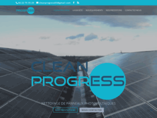 Détails : nettoyage panneaux photovoltaïques