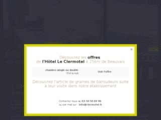Week-end ou Séjour de charme à l'hôtel Le Clermotel – Agnetz.