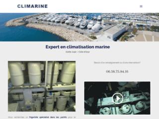 Climarine : climatisation marine