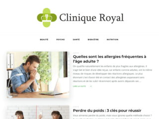 Capture du site http://www.cliniqueroyal.com