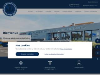 Détails : Clinique vétérinaire du Cèdre - clinique vétérinaire spécialisée dans le soin et la chirurgie des animaux de compagnie à Caen (14)
