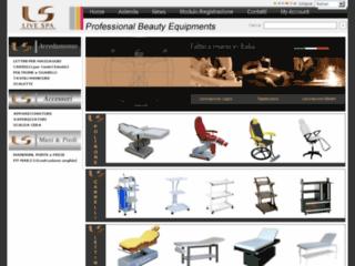 Produit pour salons et instituts de beauté sur http://www.cml-estetica.it/FR/