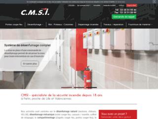 CMSI - spécialiste de la sécurité incendie à Lille