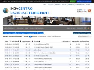 Info Terremoti - Istituto nazionale di geofisica e vulcanologia
