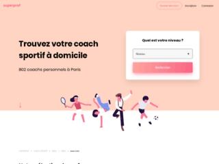 Capture du site http://www.coachandmore.fr/