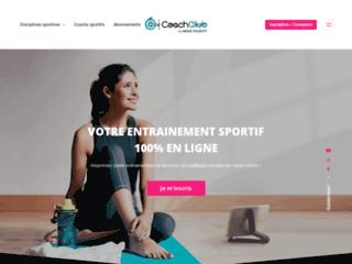 Site de coaching sportif et bien-être sur http://www.coachclub.com