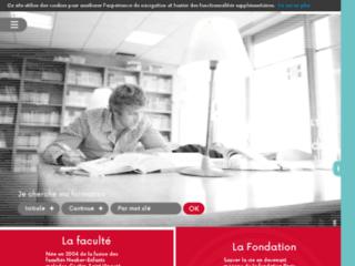 Faculté de Médecine Cochin Port-Royal sur http://www.cochin.univ-paris5.fr/