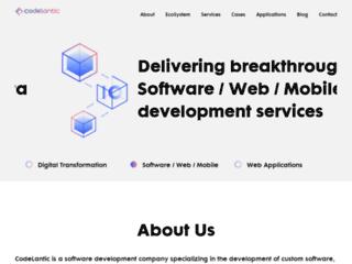 Software Development Company | Mobile Application | CodeLantic