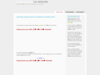 Détails : Tous sur les codes promos La Redoute