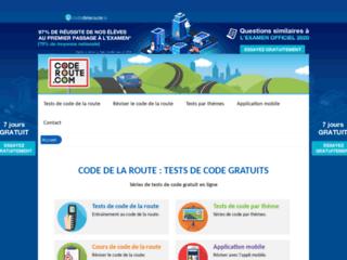 CodeRoute.com : Code en ligne - 1er site européen du code de la route