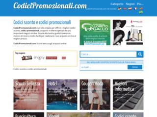 Codicipromozionali.com