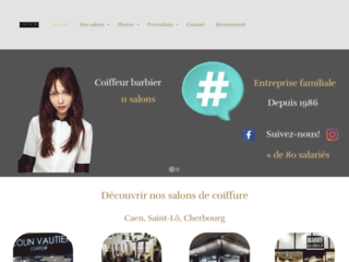 Salons de coiffure : Caen, Saint-Lô, Cherbourg