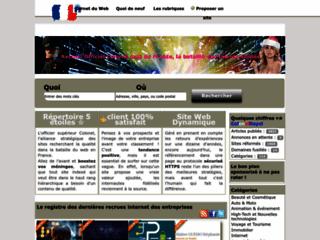 Détails : Annuaire Colonel, l'amiral du web français