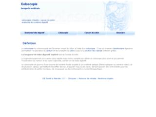 Coloscopie : informations sur http://www.coloscopie.info