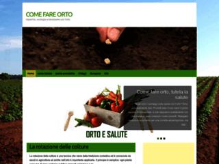 Come fare orto - Aiuta a creare una coltivazione e evidenzia i vantaggi che si possono ottenere