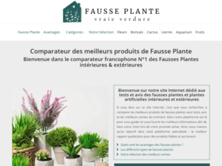 Détails : Tests et avis des fausses plantes intérieures et extérieures