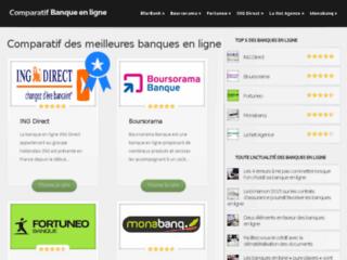 Aperçu du site Comparatif Banque en ligne
