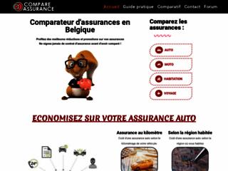 Prix assurance auto en Belgique