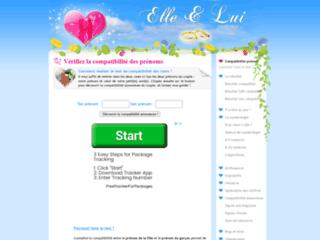 Détails : Compatibilité des prénoms : test gratuit et immédiat
