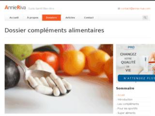 Les compléments alimentaires sur http://complements-alimentaires.noname.fr