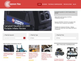 Campbell Hausfeld CC 2300 Portable Inflator Review - Best Quality Air Compressors Review