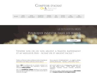 Comptoir d'Achat Or et Argent : achat bijoux occasion Nantes