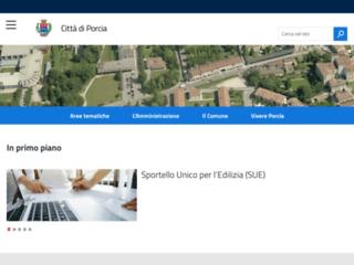 Info: Scheda e opinioni degli utenti : Città di Porcia (Pordenone) Portale istituzionale