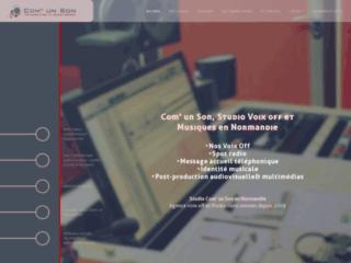 Studio Com'un Son - Agence Voix Off - Casting - Enregistrement et Post-production