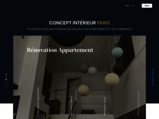 La rénovation avec Concept Interieur France
