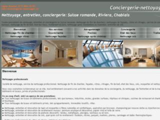 Détails : Service professionnel de conciergerie en Suisse romande