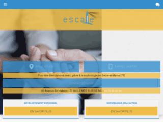 Capture du site http://www.conseil-escale.fr