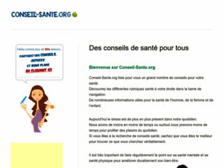 Conseil Santé sur http://www.conseil-sante.org