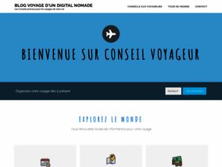 Capture du site http://www.conseil-voyageur.fr