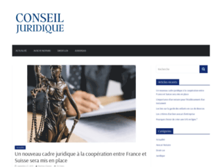 Conseils et informations juridiques gratuits