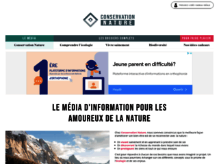 CONSERVATION DE LA NATURE