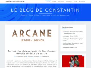 Le Blog de Constantin