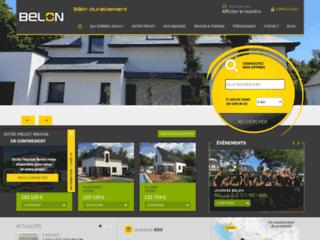 Aperçu du site Les Constructions Du Belon